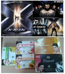 X Men Grooming Kits and Joy Facial Skin Fruits