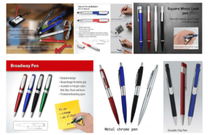 Different Types of Metal Pens