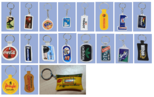 Plastic Keychains & Key rings