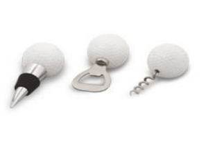 Golf personalised bar set with openers