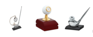 Golf Table Top Gifts with Clock