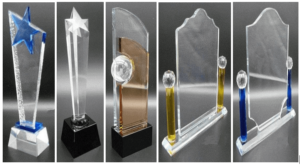 Acrylic and Crystal Awards