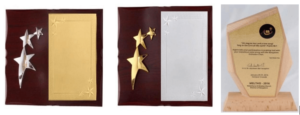 Gold and Silver Plaques