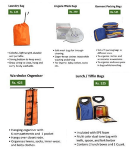 Home Utility Bags