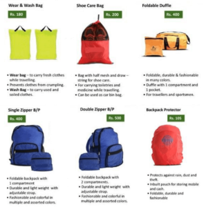 Travel Utility Bags