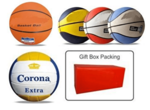 Promotional Basket Ball and Volleyball