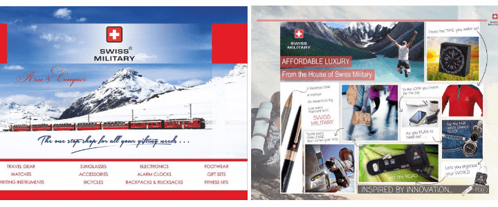 Swiss Military as Branded Corporate Gifts