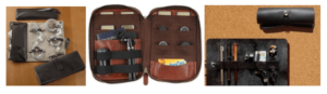 Leather Accessory Organizer