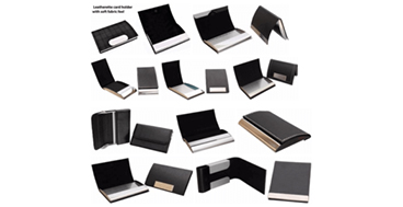 Leather, Metal & Double Sided Visiting Card Holders as Corporate Gifts