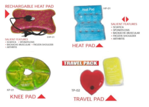 Rechargeable Heat Knee and Travel Pads