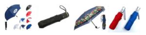 Three Fold Umbrellas