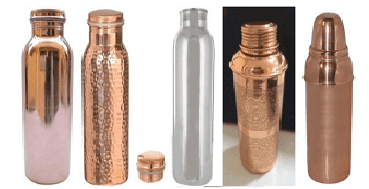 Copper Bottles, Glasses, Mugs & Jugs as Corporate Gifts