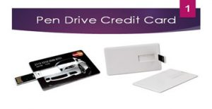 USB Pen Drive Credit Card
