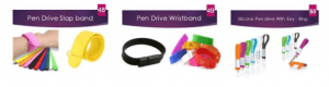 Wristband Pen Drives