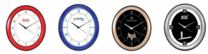Medium Size Round Wall Clocks