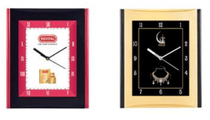 Rectangular Wall Clock With Look of square size