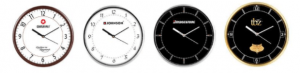 Smaller round wall clocks