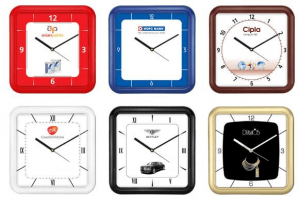 Square Wall Clocks With Rounded Edges