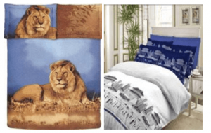 Jungle Safari Bed Covers