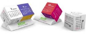 Duo Cube Calendars