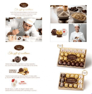 Ferrero Collection as the Gift of Excellence