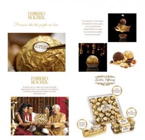 Ferrero Rocher as Golden Offering