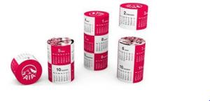 Magnetic 360 Round Calendar