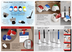 Table top utility promotional products