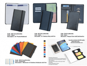 Diaries Notebooks and Passport Covers