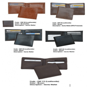 Leather Gents Wallets in100 to 200 Rupees