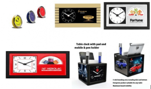 Miscellaneous Table Clocks
