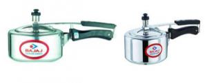 Gas Compaitable 2 Litre Silver Colour Pressure Cookers