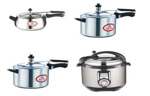 Gas and Induction Compaitable 3 Litre Pressure Cookers