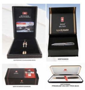 Swiss Military Box Packing Pens