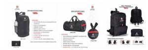 Foldable Backpack Sports Bag