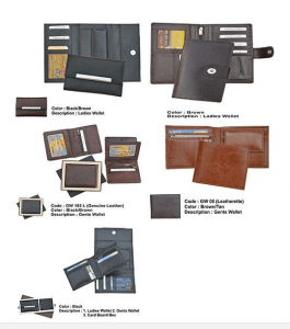 Gents and Ladies Wallet Sets
