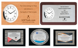 Mementos Plaques Certificates