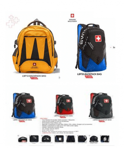 Backpack bag with MRP 1990 range
