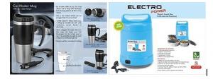 Car heater mug & Electric lunch box