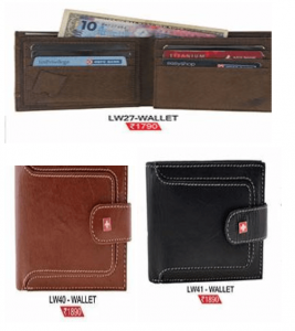 ID Card Holder Leather Wallets
