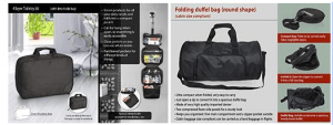 Toiletry Kit & Foldable Duffle Bag