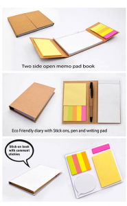 Eco Friendly Two Side Open Memo Book