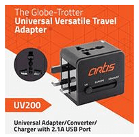 ARTIS Model UV200 as Universal Travel Adaptor