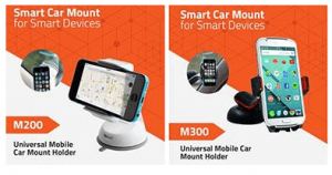 ARTIS Model M200 and M300 as Universal Mobile Car Mount Holders