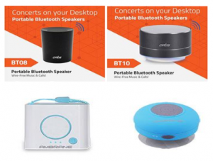 BLUETOOTH INDOOR SPEAKERS
