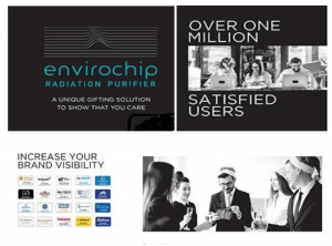 Envirochip Radiation Purifier as Corporate Gift