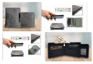 Wireless Card Holder and Wallet