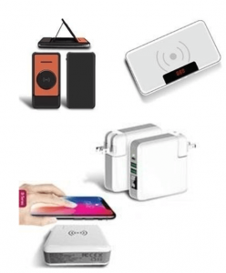 Wireless Charging Power Banks Cum Adapter