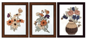 Floral Wall Hanging Handicrafts