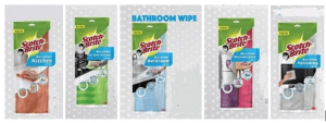 Microfibre Scrubby Kitchen and Bathroom Wipe